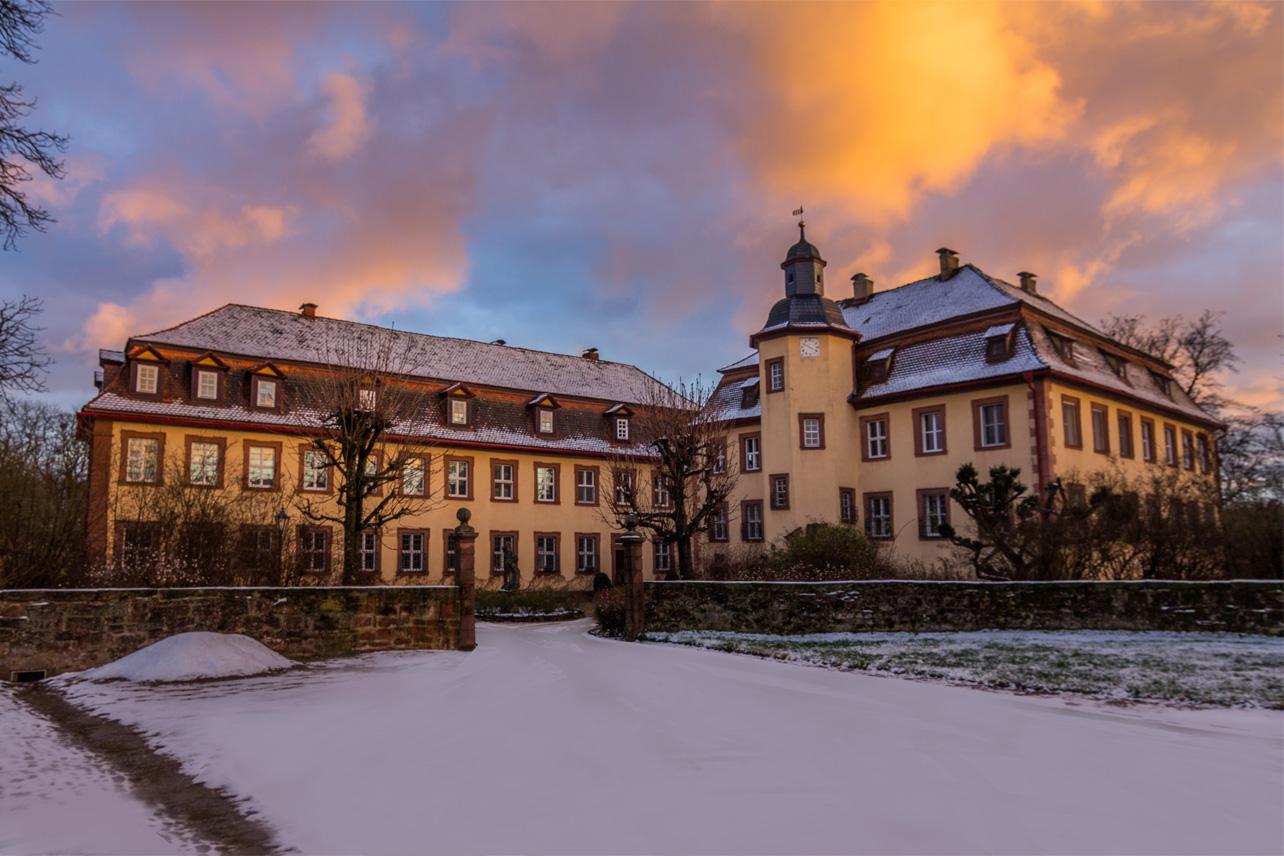 Rarität – Barock-Schloss am Naturpark Rhön gelegen
